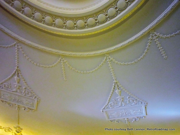 Parkside Candies Buffalo NY Plaster Ceiling Detail Retro Roadmap
