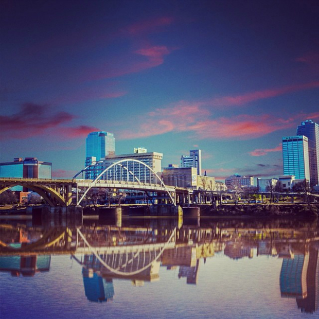 Little Rock Instagram. Credit: loughran20