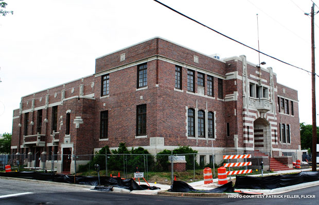 The Houston Light Guard Armory, Texas