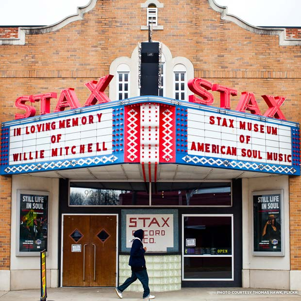 The Stax Museum of American Soul Music. Credit: Thomas Hawk, Flickr