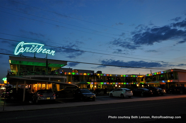 Wildwood Motels - Caribbean Motel - Retro Roadmap