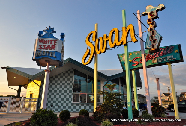 Wildwood Motels - Doo Wop Preservation League - Exterior - Retro Roadmap
