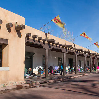 Palace of the Governors, Santa Fe, NM