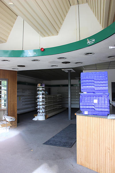 The interior of the pharmacy