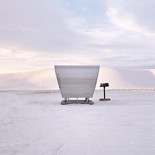 Rest Stop in White Sands, New Mexico