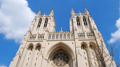 The Washington National Cathedral was completed over the course of 83 years.