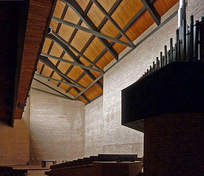 The interior of St. Procopius Abbey and Monastery
