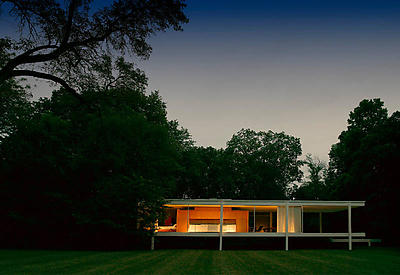 Exterior view of new Farnsworth House