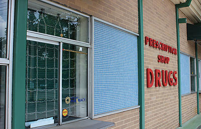 The drive-in window for the pharmacy