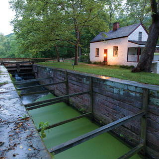 Chesapeake and Ohio Canal Lockhouse