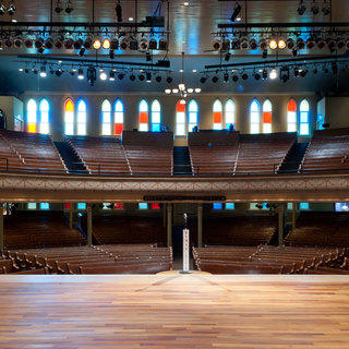 Inside the Ryman Auditorium