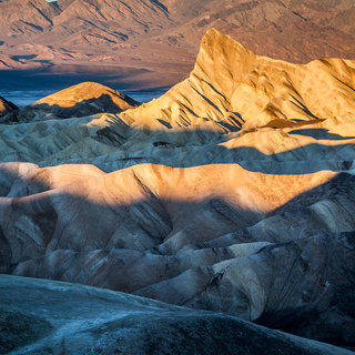 Zabriske Point at Death Valley (hero image)
