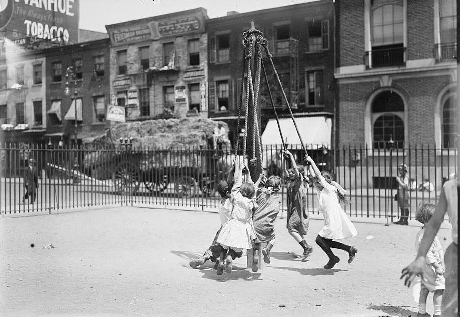 The Junk Playground Of New York City >> How We Came To Play The History Of Playgrounds National Trust For
