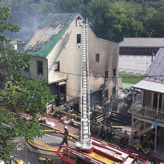 Harpers Ferry Fire: Image 1