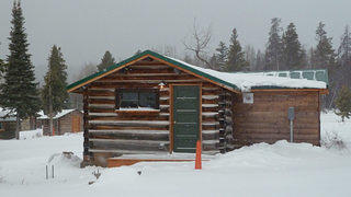 A fully rehabilitated Cabin 1157 at White Grass Dude Ranch.