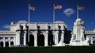 Union Station serves as a historic gateway to the Nation's Capital.