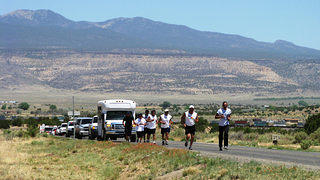 A run was organized in 2008 to raise awareness about Mount Taylor.