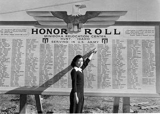 Honor Roll at Minidoka