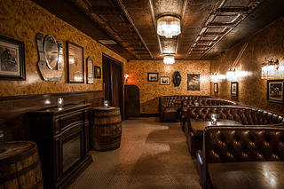 Townhouse and Del Monte Speakeasy booths