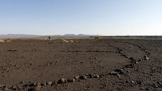 Geoglyph on the Sentinel Arlington Volcanic Field.