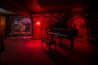Townhouse and Del Monte Speakeasy grand piano