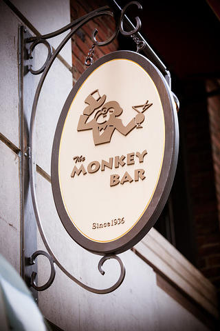 Monkey Bar sign