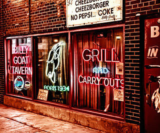 Billy Goat Tavern exterior