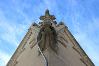 National Cathedral Repairs new lightning rod 2015