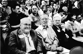 Architects and engineers enjoy the last Astros game in the Astrodome