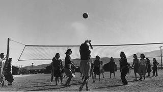 Manzanar Volleyball Game