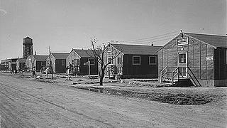Minidoka barracks