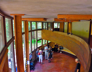 Interior of the Spring House