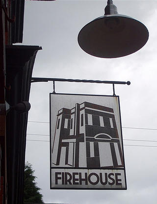 Firehouse Restaurant Sign, Portland, Ore.