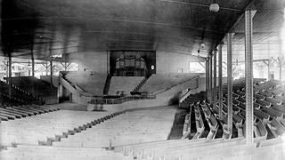 Interior of Assembly Hall, c. 1899.
