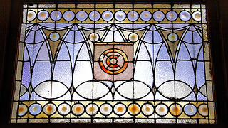 Chicago Athletic Association Stained Glass