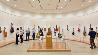 International guitars at the Musical Instrument Museum
