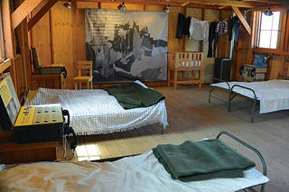 Manzanar National Historic Site Bunk Exhibit