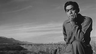 Manzanar Man in Field
