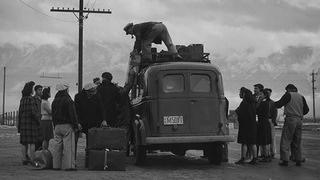 Manzanar Loading Bus