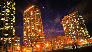 Long Island City at Night
