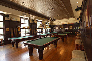 Southport Lanes billiards
