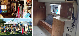 Highway Twelve South, Airstream boutique, Before and After