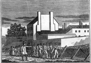 Franklin & Armfield slave pen