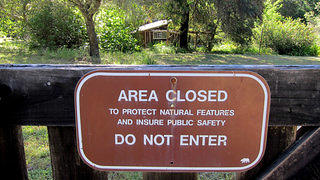 Since 1985, California State Parks has done little maintenance at Pond Farm.