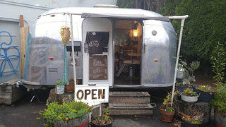 The Hairstream Trailer, Exterior 2