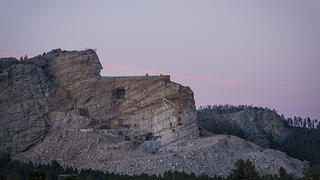 Black Hills Crazy Horse Rock Sculpture