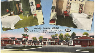 A motel in Alexandria, Virginia