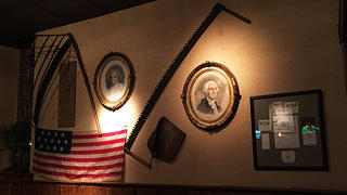 Middleton Tavern interior decoration