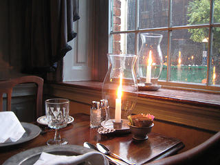 Gadsby's Tavern window view
