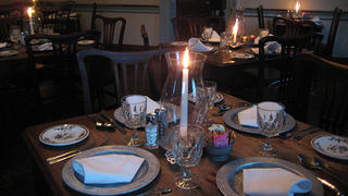 Gadsby's Tavern place setting